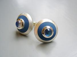 Silber 925 Mondsteine Colorit