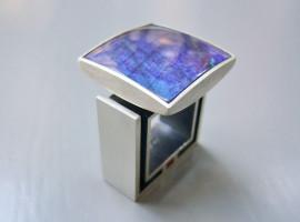Silber 925 Labradorit Colorit